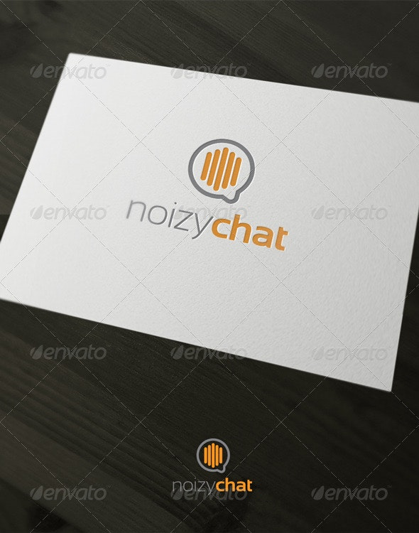 Noisy Chat - Vector Abstract