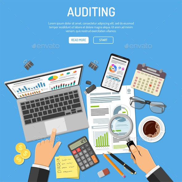 Auditing Tax Process Accounting Concept By -TAlex