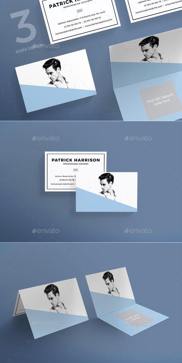 Fashion Designer Business Card - Business Cards Print Templates