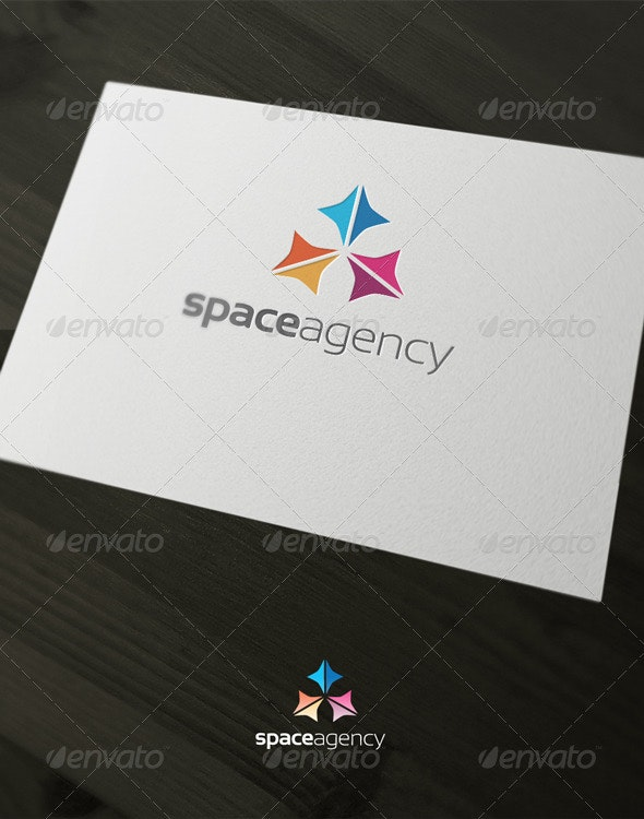 Space agency - Vector Abstract