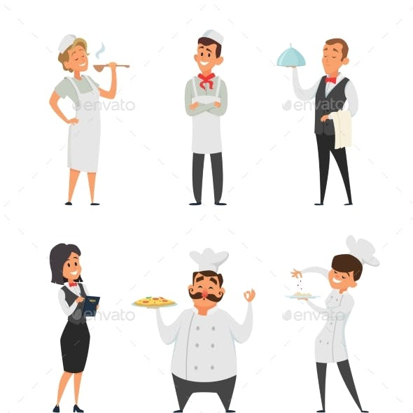 Professional Staff of the Restaurant