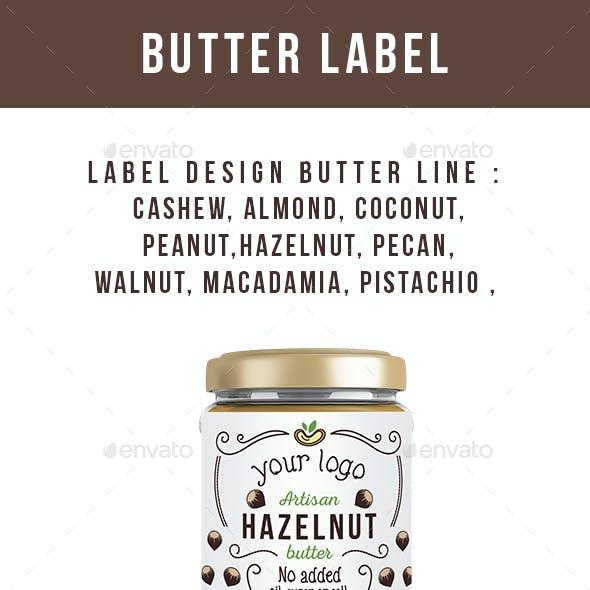 Butter Label Design