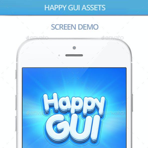Happy GUI Assets