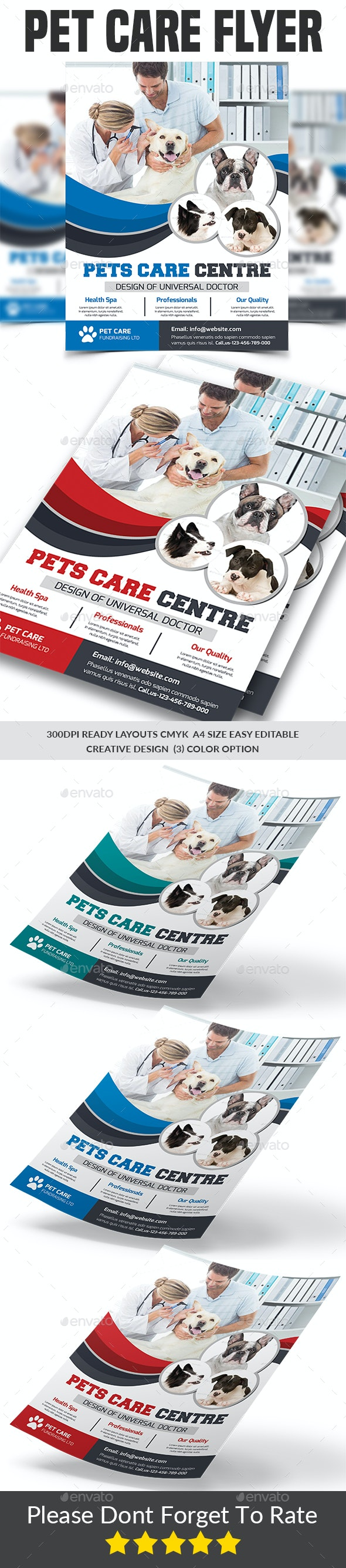 Pet Care Flyer Templates - Corporate Flyers