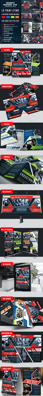 Cross Training Gym Print Bundle Pack - Print Templates