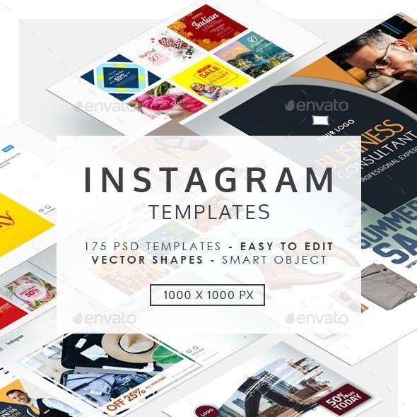 Instagram Banner Templates