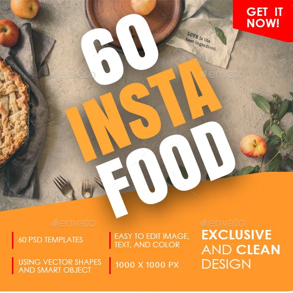Instagram Food Banner