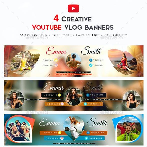 Vlog YouTube Banner
