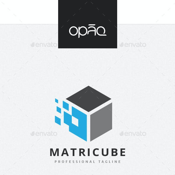 Matrix Data Cube Logo