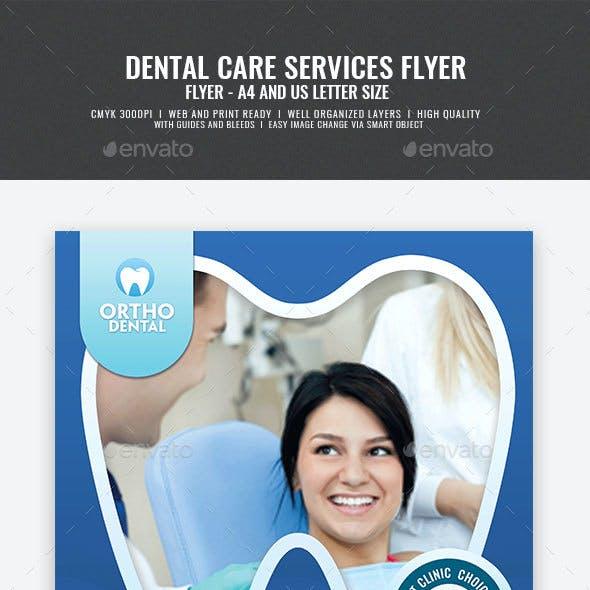 Dental Clinic Promotional Flyer