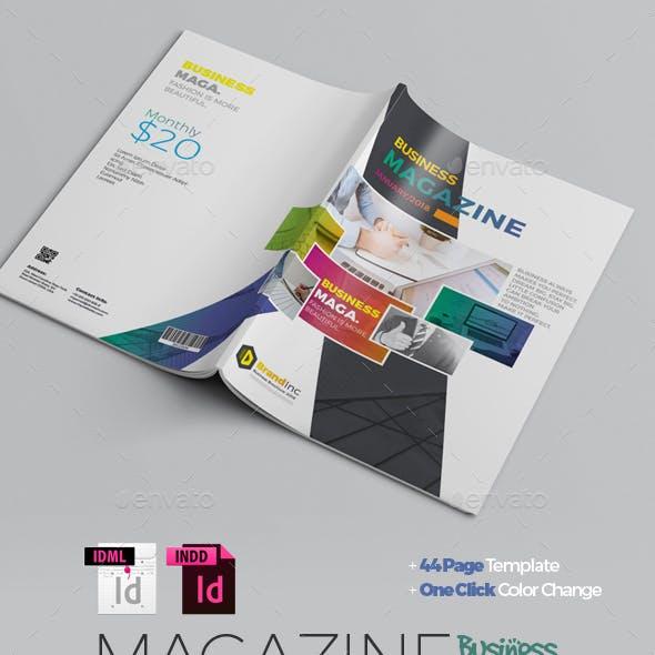 Multipurpose Business Magazine