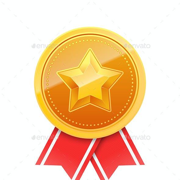 Golden Medals Set