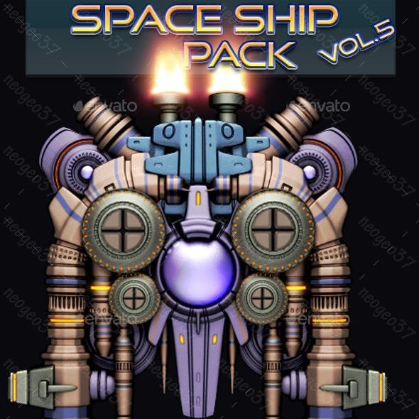 Space Ship Pack Vol 5