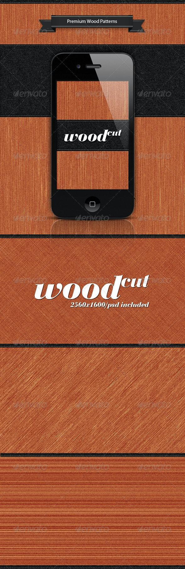 Wood Cut - Patterns Backgrounds