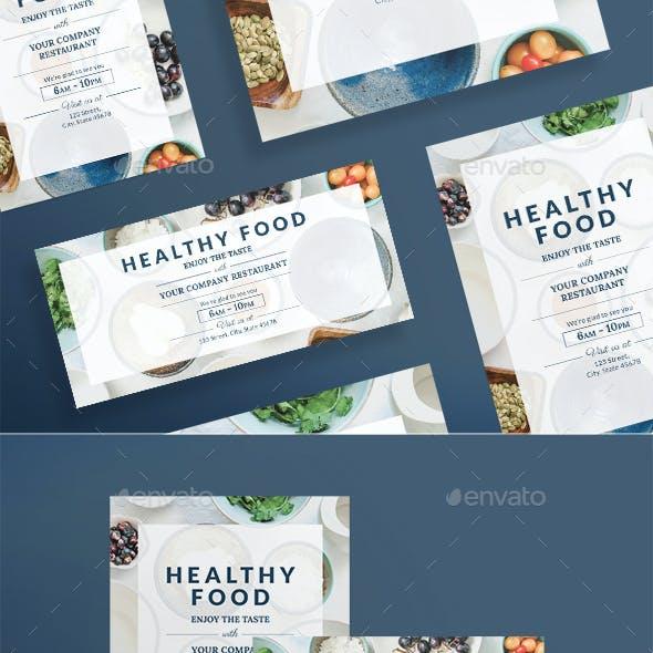 Healthy Food Flyers