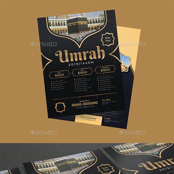 Umrah/Hajj Flyer