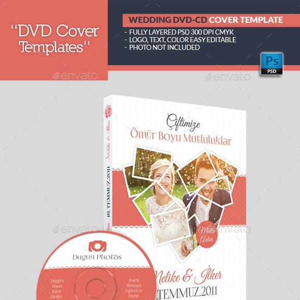 Wedding Dvd Cover Templates