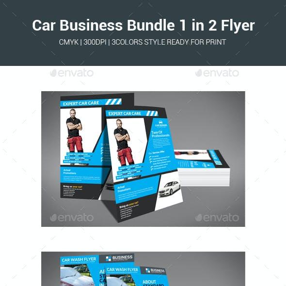 Car Business Bundle 1 in 2 Flyer