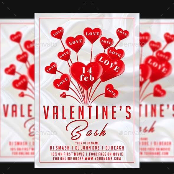 Valentines Day Flyer