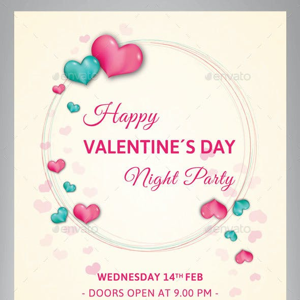 Valentine Day Pary Flyer