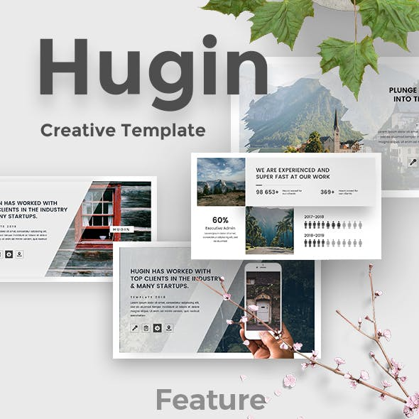 Hugin Creative Google Slide Template