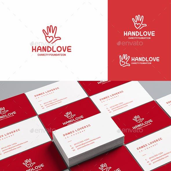 Hand Love Logo – Charity Foundation