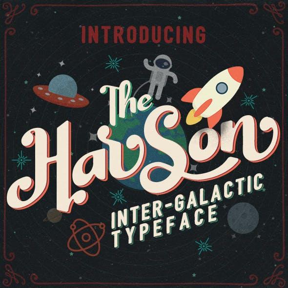 Harson: Inter-Galactic Typeface