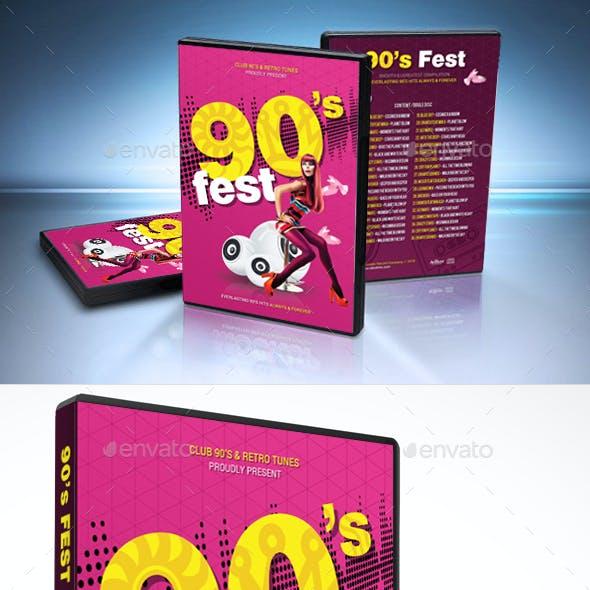 90s Everlasting DVD Cover Template