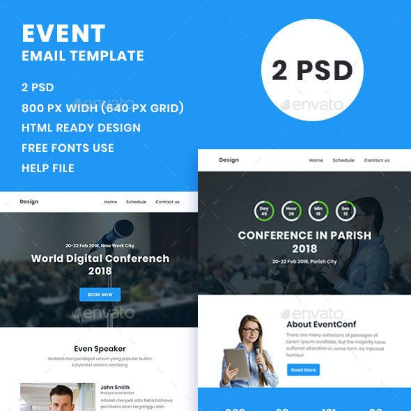 Event / Conference Email Template