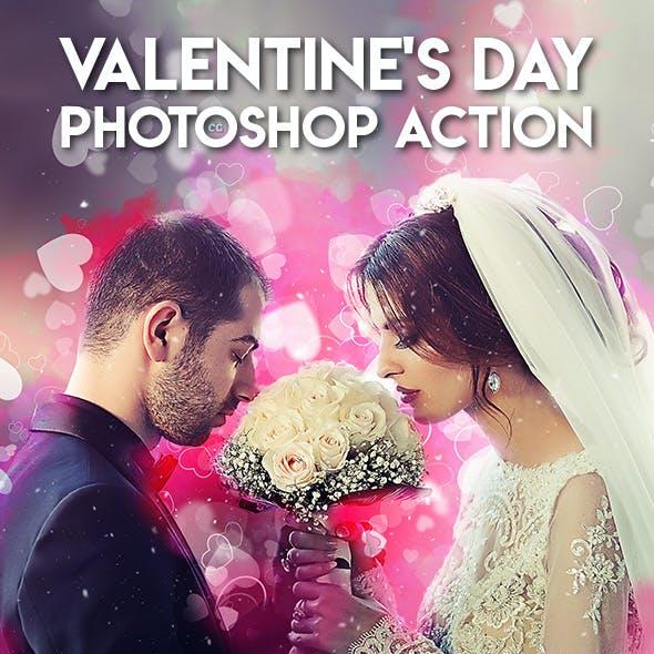Valentine's Day Photoshop Action