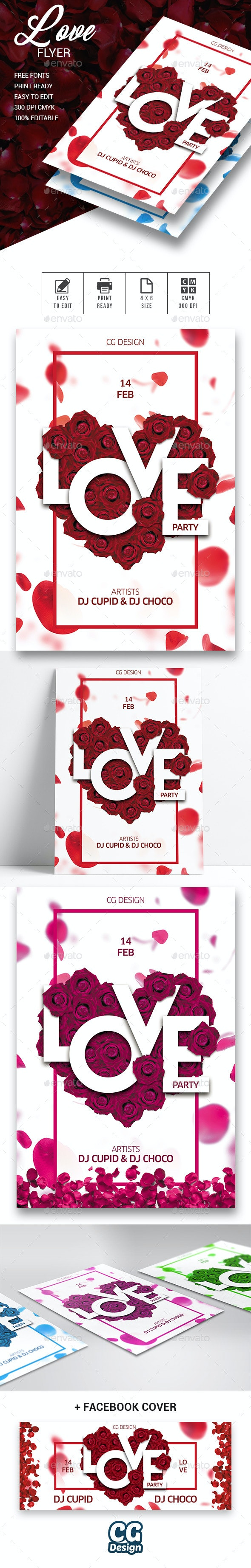 Love Flyer - Events Flyers