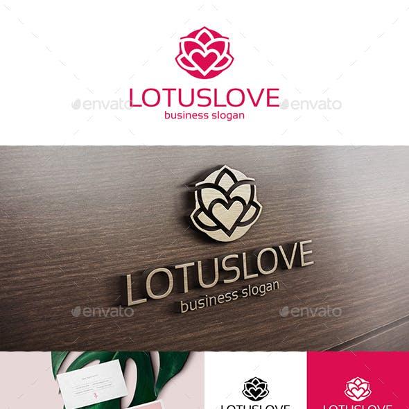 Lotus Love Logo Template