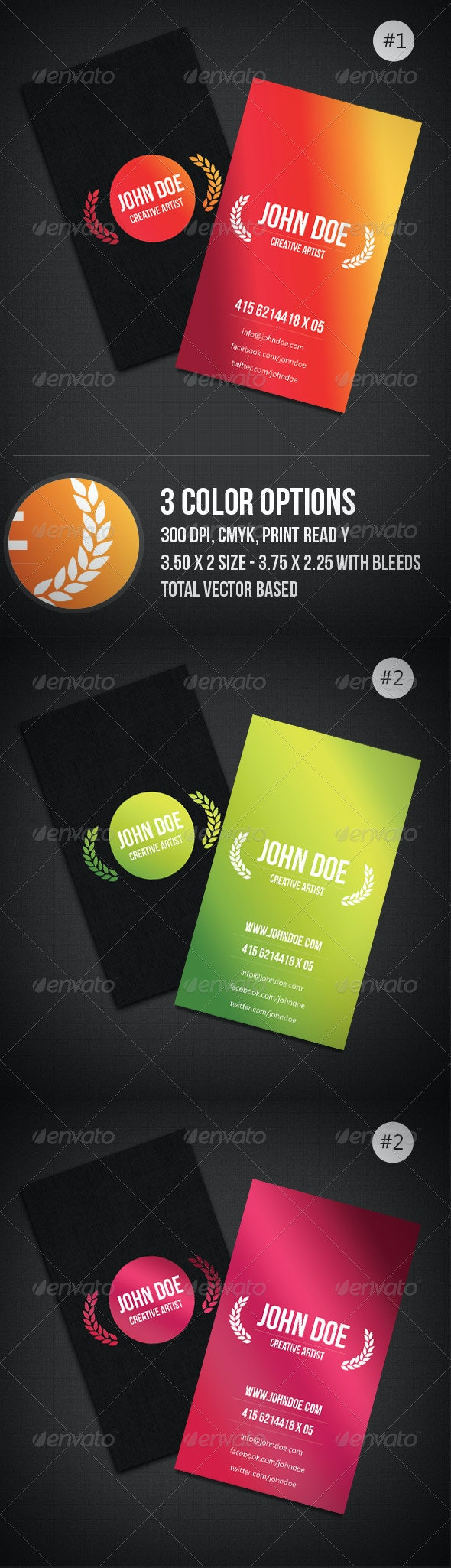 Clean & Minimal Business Card - Creative Business Cards