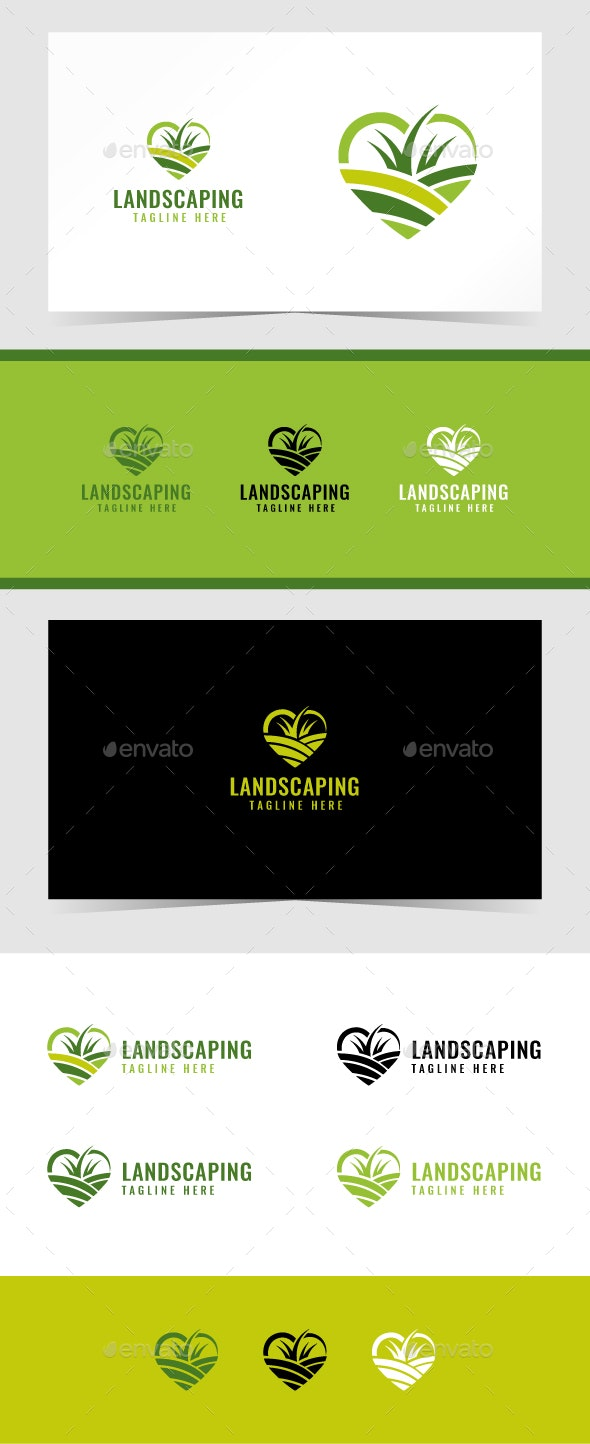 Landscaping Logo Template - Nature Logo Templates