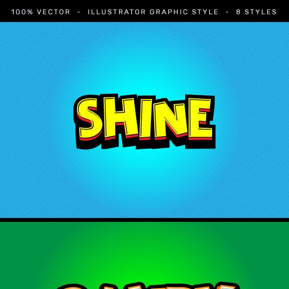 Animated Graphic Style