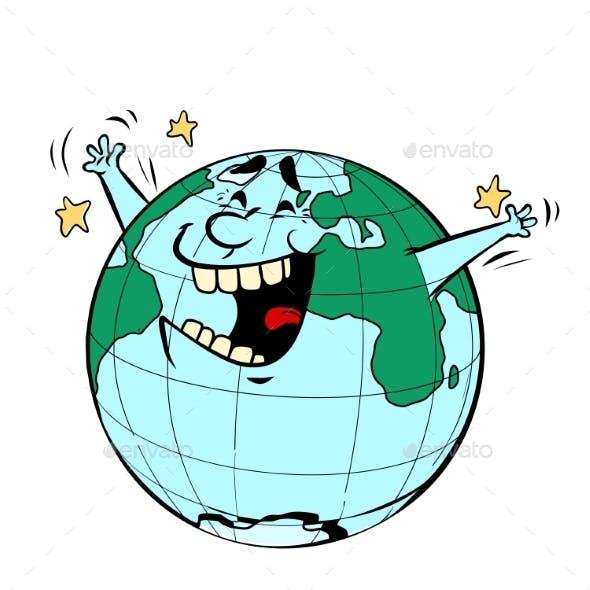 Earth Day Joyful Planet