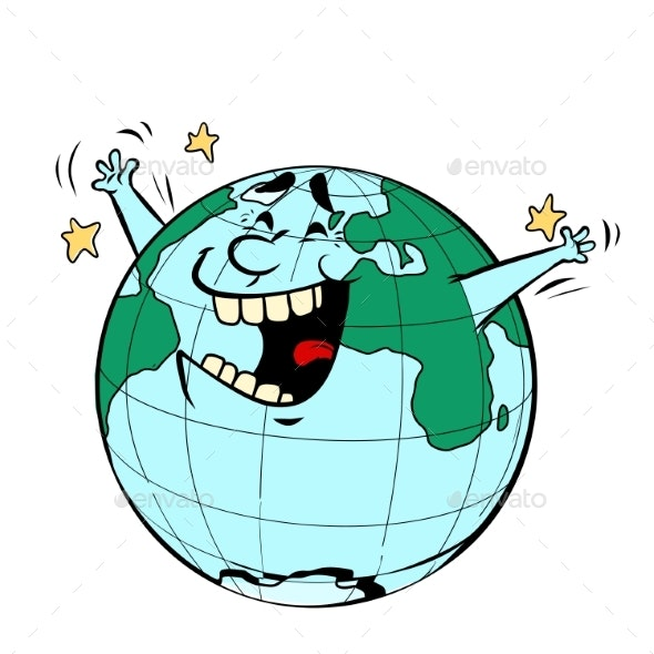 Earth Day Joyful Planet - Miscellaneous Characters