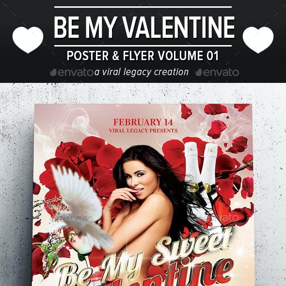 Be My Valentine Flyer V01