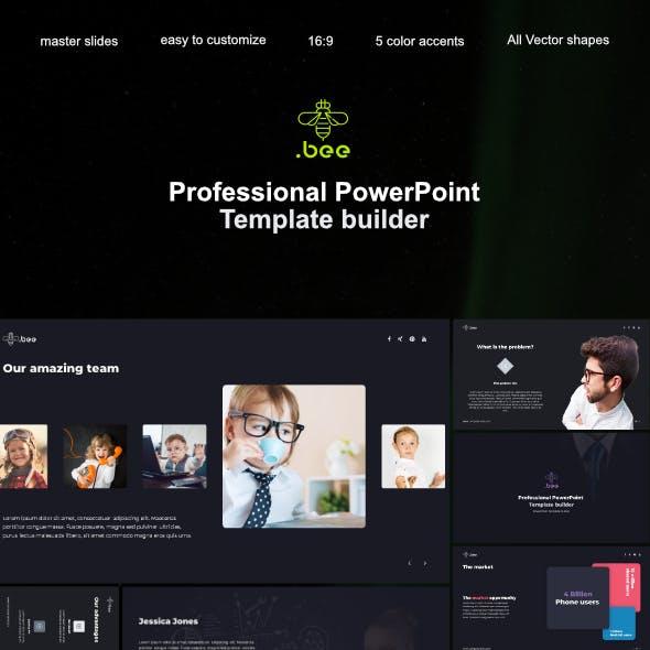 Beepro PowerPoint Template Builder