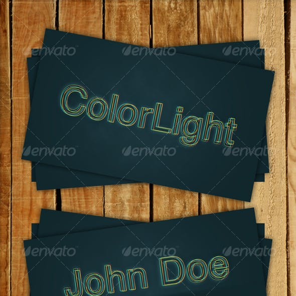 ColorLight - Business Card