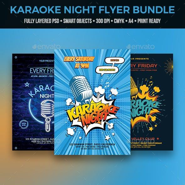 Karaoke Flyer Bundle