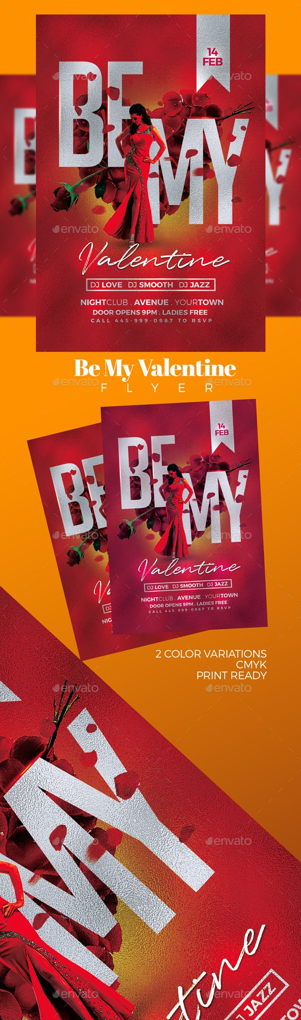 Be My Valentine - Clubs & Parties Events