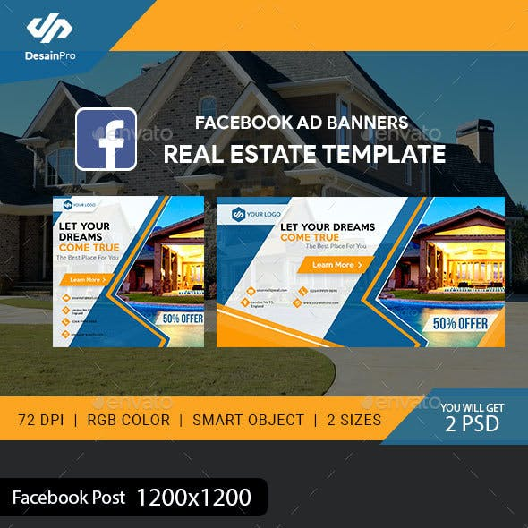 Fb Ads Graphics, Designs & Templates from GraphicRiver