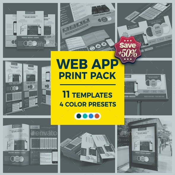 Web App Tech and Hosting Bundle Pack