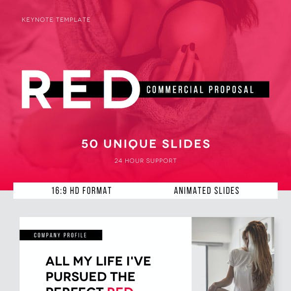 RED Commercial Proposal - Keynote Template