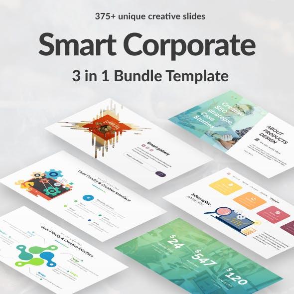 3 in 1 Business -  Smart Corporate Bundle Google Slide
