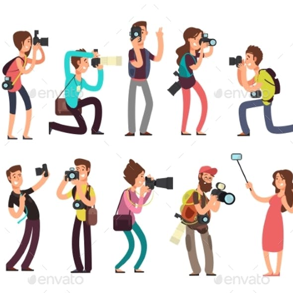 Professional Photographers with Camera