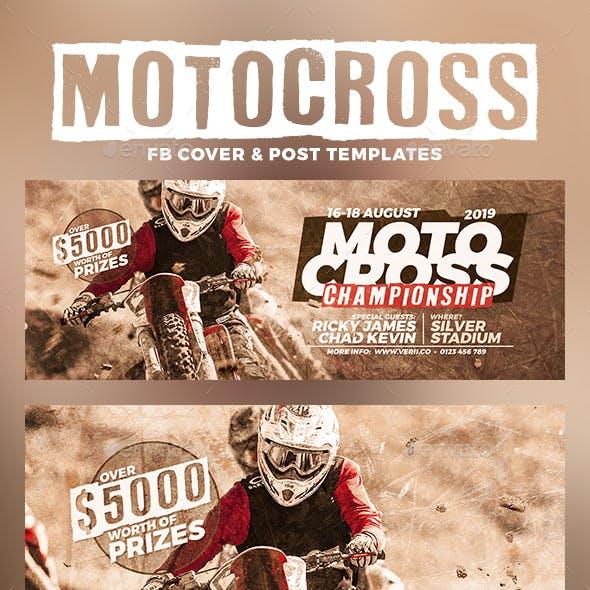 Motocross Facebook Cover