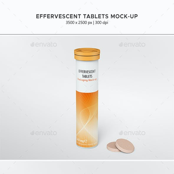 Effervescent Tablets Mock-up