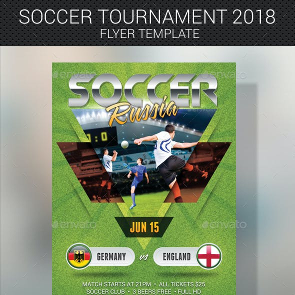 2 in 1 Sport Banner and Flyer Bundle